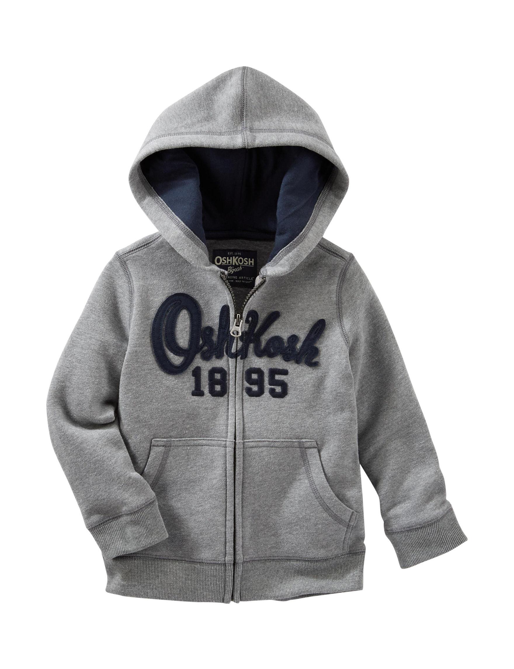 Oshkosh B'Gosh Grey Lightweight Jackets & Blazers
