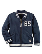 Carter's® Full Zip Varsity Jacket - Toddler Boys