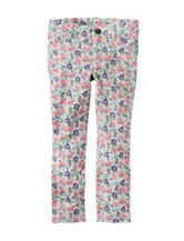 Carter's® Floral Terry Jeggings - Toddler Girls