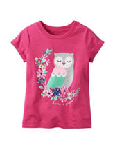 Carters® Pink Owl Top - Toddler Girls