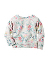 Carter's® Floral Print Terry Top – Toddler Girls