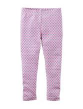 Carter's® Glitter Geo Print Leggings - Girls 4-8
