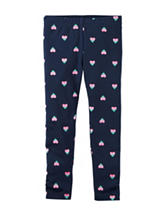 Carter's® Two-Toned Heart Print Leggings - Girls 4-8