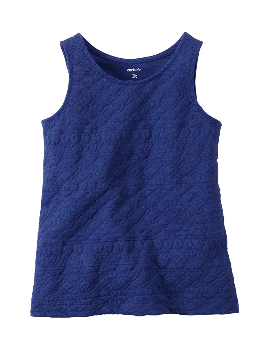 Carter's Blue Tees & Tanks