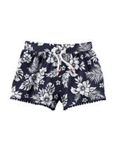 Carter's® Floral Print Shorts - Toddler Girls