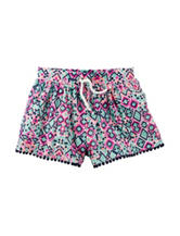 Carter's® Multicolor Aztec Geo Print Shorts - Toddler Girls