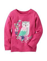 Carter's® Owl Top – Toddler Girls