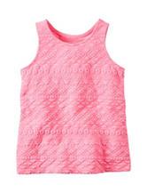 Carter's® Pink Textured Top - Girls 4-8