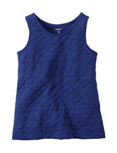 Carter's® Blue Textured Top - Girls 4-8