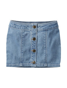 Carter's® Denim Button Skirt - Toddler Girls