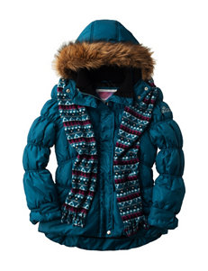 Pink Platinum Blue Puffer & Quilted Jackets