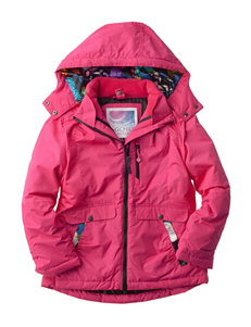 Pink Platinum Systems Butterfly Print Jacket - Girls 7-16
