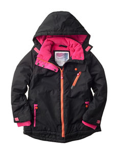 Pink Platinum Black Puffer & Quilted Jackets