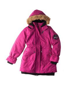 Pink Platinum Pink Fleece & Soft Shell Jackets