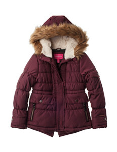 London Fog Mulberry Fleece & Soft Shell Jackets