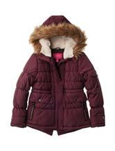 London Fog Parka Puffer Jacket - Girls 7-16