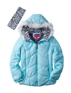London Fog Mint Puffer & Quilted Jackets