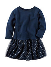 Carter's® Terry Tulle Knit Dress – Toddler Girls