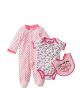 Baby Gear 3-pc. Made With Love Sleep & Play Set - Baby 0-6 Mos.