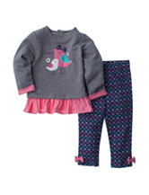 Baby Gear 2-pc. Love Forever Top & Leggings Set - Baby 12-24 Mos.