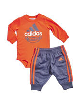 adidas® DNA Bodysuit & Pants Set – Baby 12-24 Mos.