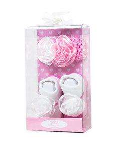 Baby Essentials Pink / White