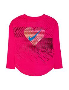 Nike Dri-Fit Swoosh Heart Top - Toddler Girls