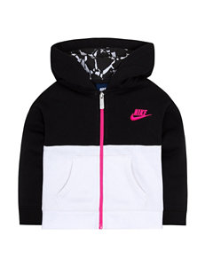 Nike Fleece Hoodie - Girls 4-6x
