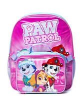 Paw Patrol Backpack with Lunch Box