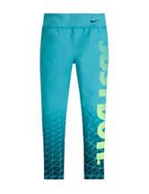 Nike® Dri-Fit Just Do It Fade Leggings - Girls 4-6x