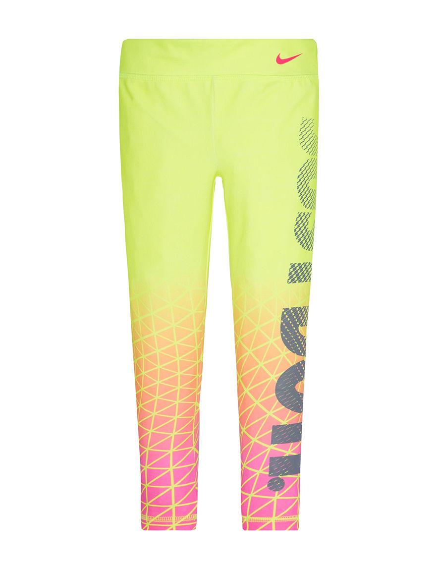 Nike Yellow Stretch