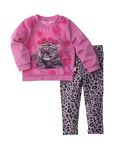 Limited Too 2-pc. Leopard Top & Leggings Set - Baby 12-24 Mos.