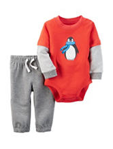 Carter's® 2-pc. Penguin Bodysuit & Pants Set - Baby 0-24 Mos.