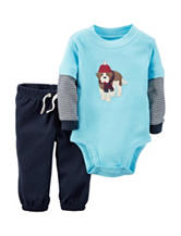 Carter's® 2-pc. Dog Bodysuit & Pants Set - Baby 0-18 Mos.