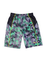 Puma® Multicolor Camo Print Shorts - Boys 8-20