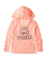 Miss Chevious Sparkle Lace Top - Girls 7-16
