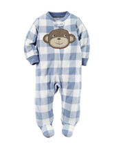Carters® Monkey Fleece Sleep & Play - Baby 0-9 Mos.