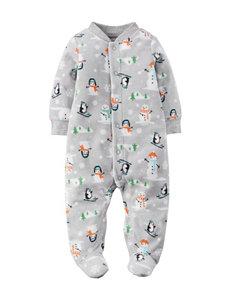 Carter's® Snowman Print Sleep & Play - Baby 0-9 Mos.