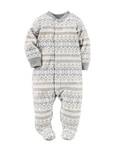 Carter's® Fair Isle Print Sleep & Play - Baby 0-9 Mos.