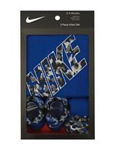 Nike® 3-pc. Wetland Bodysuit Set - Baby 0-6 Mos.