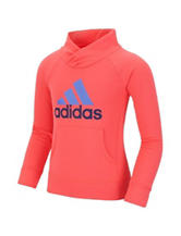 Adidas® Red Performance Pullover Top - Toddlers & Girls 4-6x