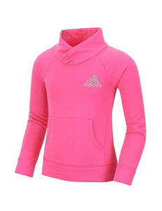 adidas® Performance Pullover Top - Girls 2-6x