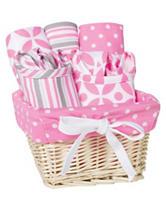 Trend Lab 7-pc. Lily Feeding Basket Gift Set