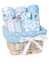 Trend Lab 7-pc. Logan Feeding Basket Gift Set