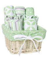 Trend Lab 7-pc. Lauren Feeding Basket Gift Set