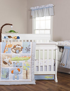Trend Lab 6-pc. Jungle Fun Crib Bedding Set