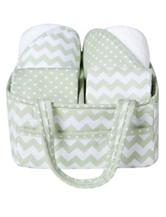 Trend Lab Sea Foam 5-pc. Baby Bath Gift Set