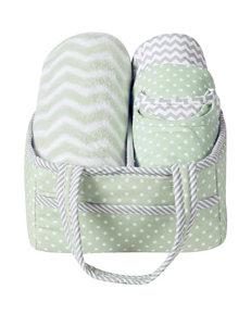 Trend Lab 6-pc. Sea Foam Baby Care Gift Set