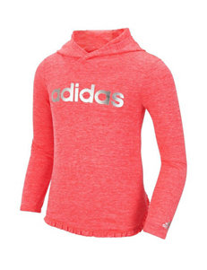 adidas® Pretty Strong Clima Hooded Top - Girls 2-6x