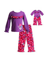 Dollie & Me Floral Print Pajamas Set - Girls 4-14